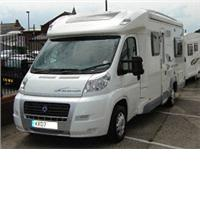 4 berth ace airstream 680 fb from Stewart Longton Caravans