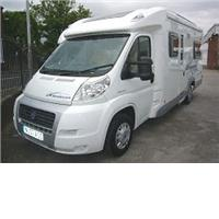 4 berth ace airstream 680 fb from Highbridge Caravan Centre Ltd