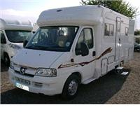 2 berth autocruise autocruiuse starblaz.. from Greentree Caravan And Motorhomes