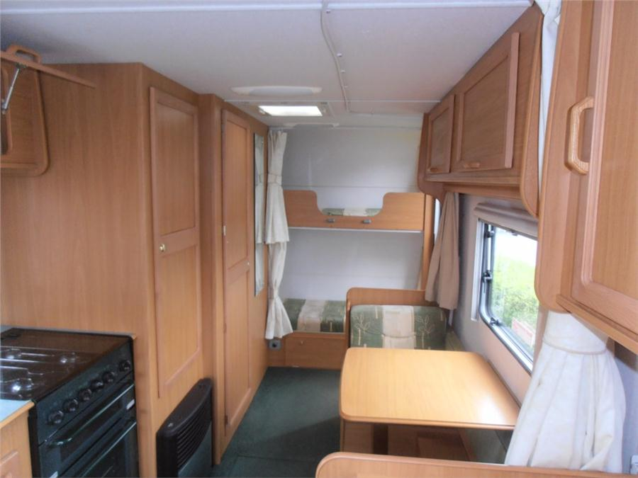 Avondale Dart 556/6 2004 6 berth Touring Caravan for sale