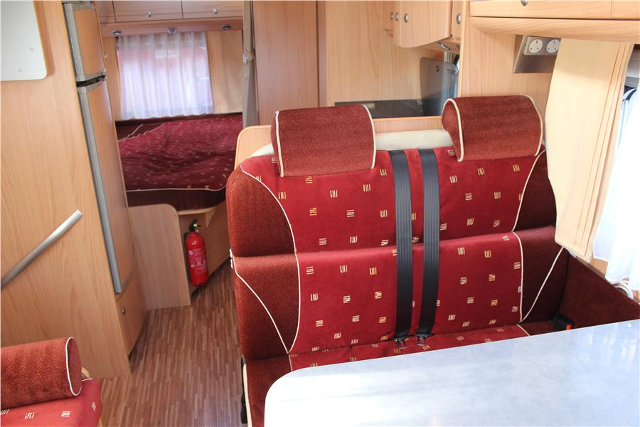 Burstner 2007 4 Berth Motorhome For Sale From A Private