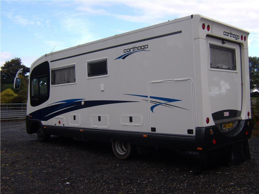 Carthago Chic C Line 2007 6 Berth Motorhome For Sale From