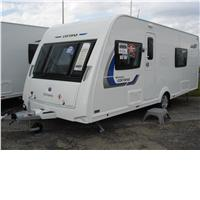 4 berth compass corona 574 2014 from Leeds Caravans Centre