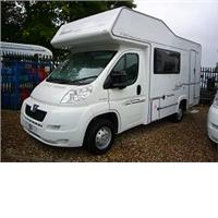 4 berth elddis sunseeker 130 from Highbridge Caravan Centre Ltd