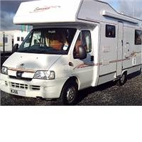 6 berth elddis sunseeker 180 from Highbridge Caravan Centre Ltd