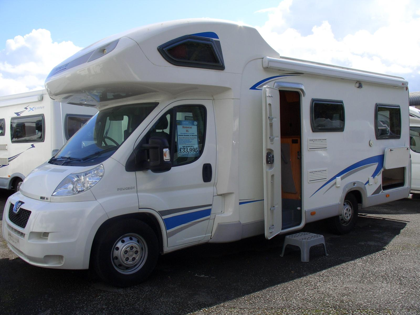 Homecar Rl 2009 6 Berth Motorhome For Sale From Davan