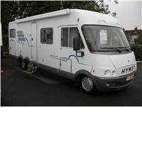 5 berth hymer b694 from Davan Caravans Ltd