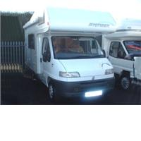 5 berth hymer swing from Highbridge Caravan Centre Ltd