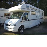 6 berth lunar roadstar 780 from Highbridge Caravan Centre Ltd