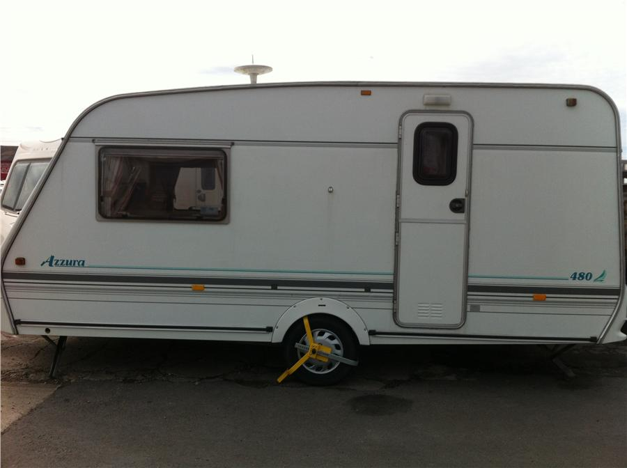 New Used Touring Caravan For Sale 2008 Sprite Quattro Es Asking Price