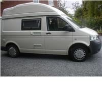 2 berth vw t5 campervan