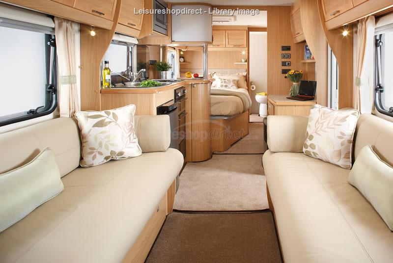 Elddis Odyssey 634 2012 4 Berth Touring Caravan For Sale