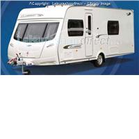 4 berth lunar clubman sb from Robinsons Caravans Ltd