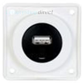 Berker USB Charging Point White
