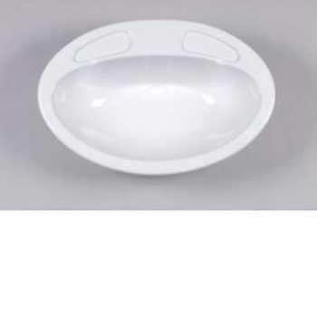 Caravan Vanity Sink Bowl - White