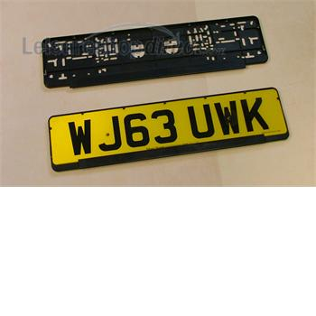 Quick Mount Number Plate Holder
