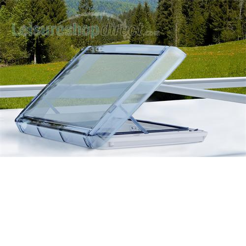 Remis Vario II rooflight with internal lighting 400 x 400
