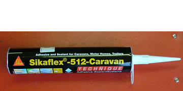 Sikaflex - 512 Caravan Sealant White