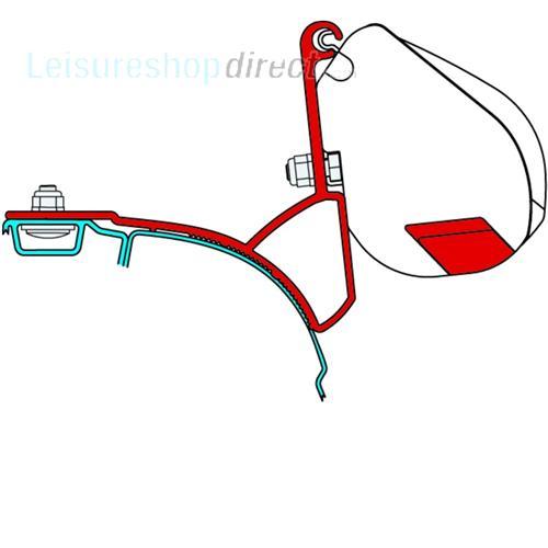 Adaptors and Rails for F35 VW T5 Vans