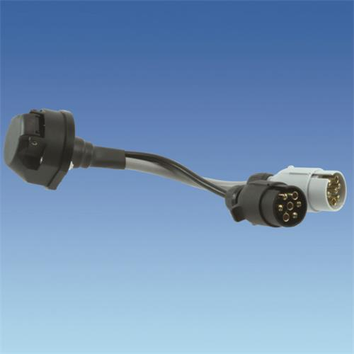 13 pin socket to 7n and 7s plugs