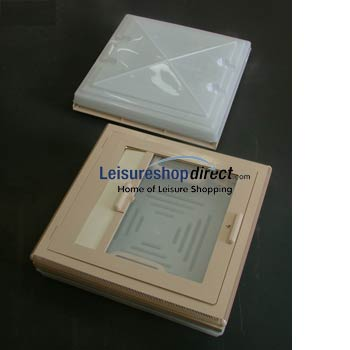 MPK Rooflight 420 with Flynet & Blind - Beige