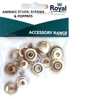 Awning Studs Screws & Poppers (5)