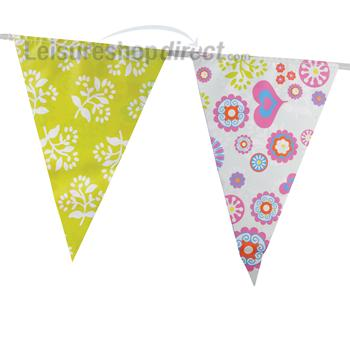 Russian Flowers Bunting