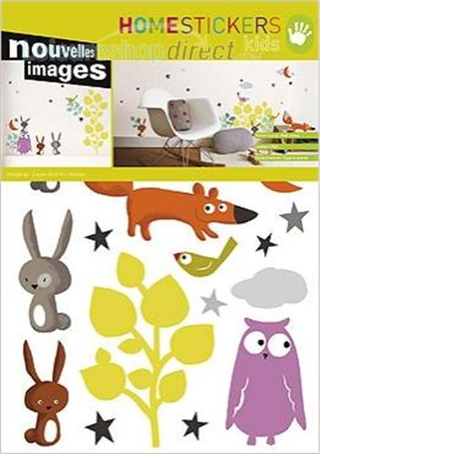 Animals And Tales Wall Stickers- Nouvelles Images