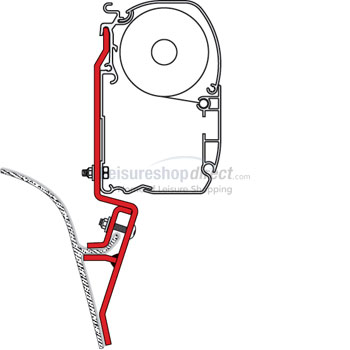 Fiamma Adapter Kit for VW T3 + Mazda Bongo
