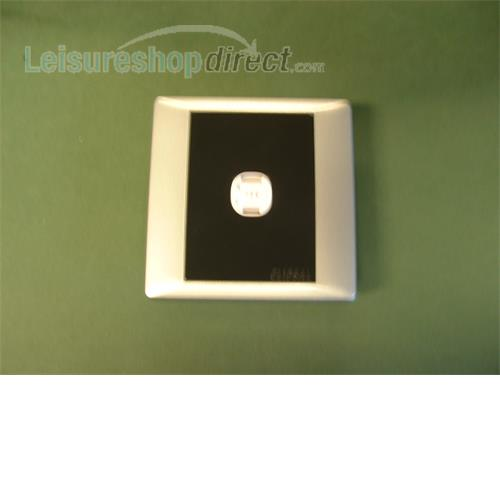 2 pin socket black and silver sand