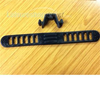 Nylon Straps for Omnibike Plus - Black