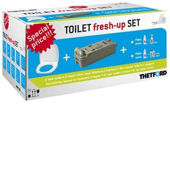 Thetford Toilet fresh-up set for C2/3/4