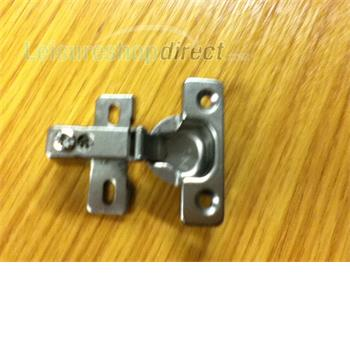 Toilet door/cupboard hinge