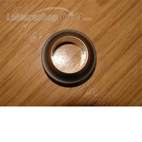 Rossette for push button 13mm door thickness,plastic