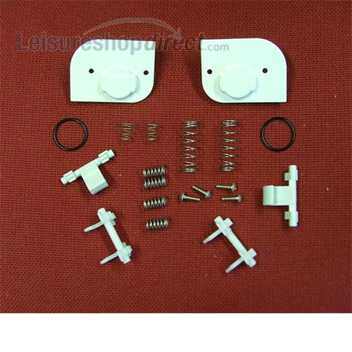 Lock Mechanism kit for Thetford Service Door - white