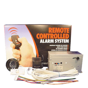 RF100 Remote Controlled Alarm System