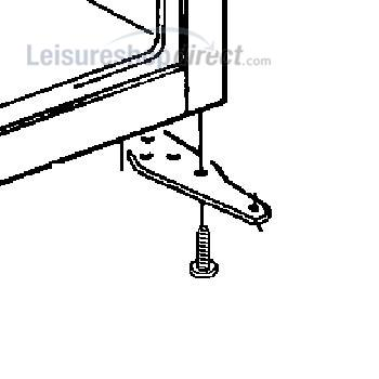Dometic Hinge Lower Right