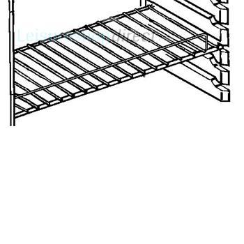 Dometic RGE200 Fridge Wire Shelf Lower