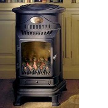 provence gas heater matt black portable portable flueless gas stove in