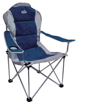 Royal Presidents Chair one size Blue/silver