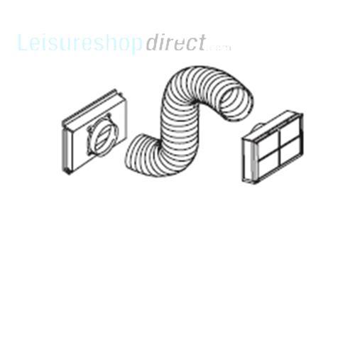 truma sapphire air conditioner flexible air intake