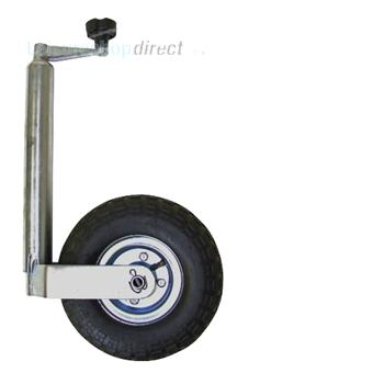 Pneumatic 48mm Jockey wheel