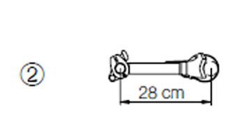 Omni-Bike Bike holder 2 - 28cm