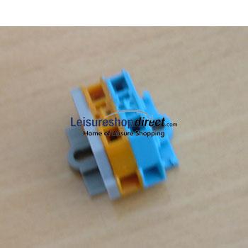 Connection Clamp Blue/Orange Truma Ultrastore Series