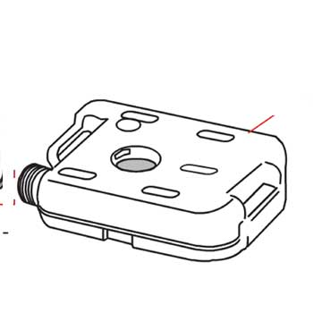 Lower Tank for the Fiamma Bi-Pot 34/1513 Portable Toilet