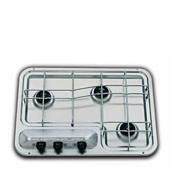 SMEV 913 Series 3 Burner Caravan Hob with Electronic Ignition
