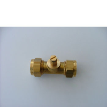 Test point compression Gas Fittings