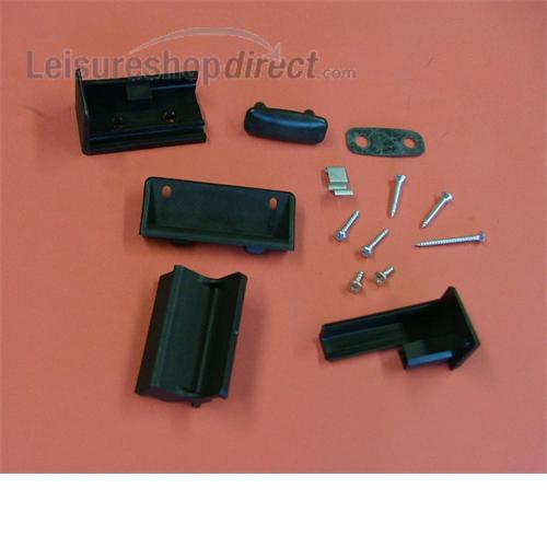 Handle/Lock for Seitz Sliding Window Acrylic Pane (until Jan 2007)