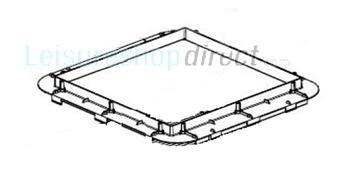 Dometic Mini-Heki Mounting Frame Complete 23-42mm