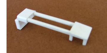 Sink flap retainer, white